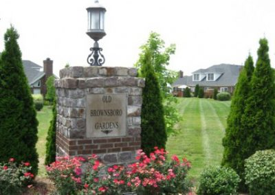 Old Brownsboro Gardens Entrance